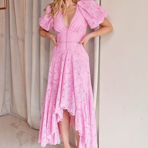 Acler Cookes Dress Taffy Pink US Size 6